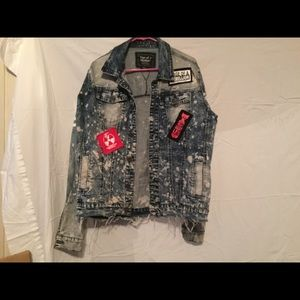 Rage of Rebellion Denim Jacket.